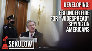 """Developing: FBI Under Fire for """"Widespread"""" Spying on Americans"""