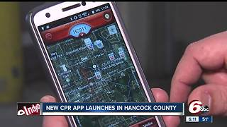 New CPR App could help you save a life - Video