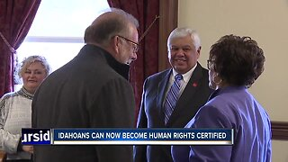 Idahoans can become human rights certified