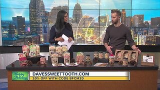 20 percent off Daves Sweet Tooth using this coupon code