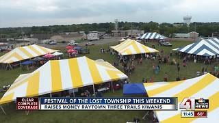 Festival of the Lost Township this weekend