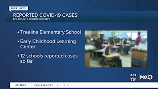 Latest COVID-19 cases in Lee County Schools