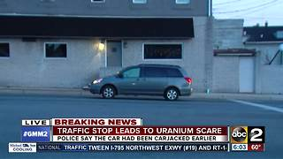 Possible uranium found in carjacked van - Video