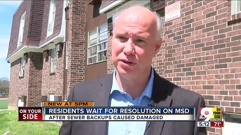 Residents wait for resolution on MSD