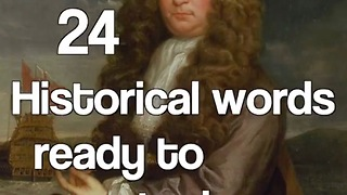 24 Historical words ready to use today