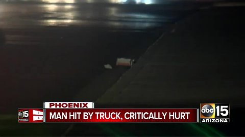 Man struck near 33rd Avenue/Northern, hospitalized with serious injuries