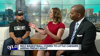 Ice Cube visits WXYZ to talk about BIG3 Basketball - Video