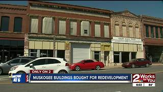 Muskogee couple reinvests in Downtown Muskogee, buys historic buildings - Video