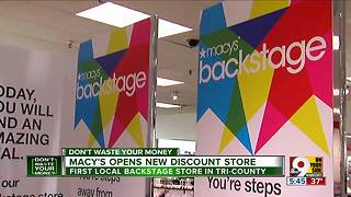Macy's opens new discount store - Video