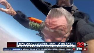 Local veterans take to the skies through Comrades N Canopies organization - Video