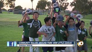 Community rallies around Park View Little League - Video