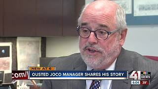 Popular JoCo county manager voted out of job - Video