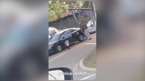 Video of child walking with hands up to FL police goes viral