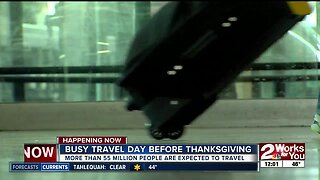 Second busiest travel day before Thanksgiving
