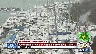 Irma Causes Catastrophic Damage on British Virgin Islands - Video