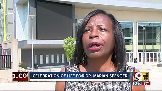 Civil rights pioneer Dr. Marian Spencer honored