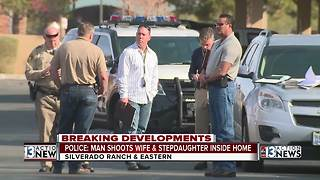 UPDATE: Police say man shot his wife, stepdaughter multiple times