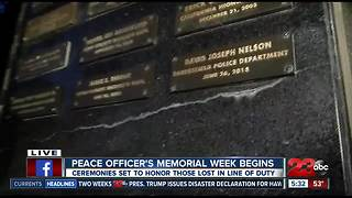 Kern County honors fallen officers - Video