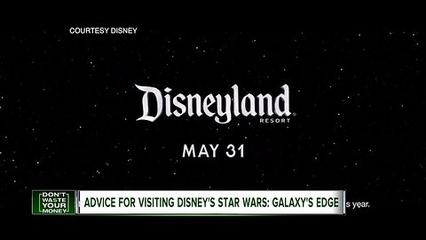 Advice for visiting Star Wars: Galaxy's Edge