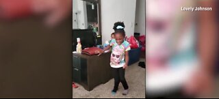 Girl with cerebral palsy takes first steps