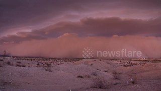 Dramatic footage captures massive dust storm in Arizona - Video