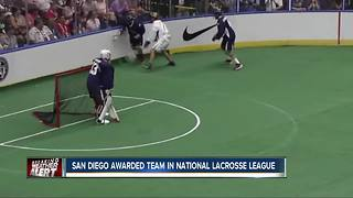 Indoor Lacrosse team coming to San Diego - Video