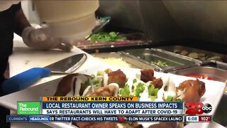 Local restaurant owner discusses reopening businesses