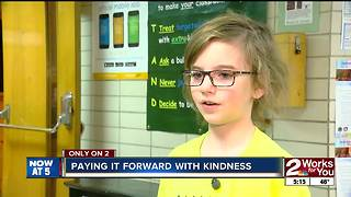 "Patrick Henry Elementary students continue ""The Kindness Effect"" - Video"