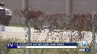 One dead, six other cyclists injured after being struck by car in Davie
