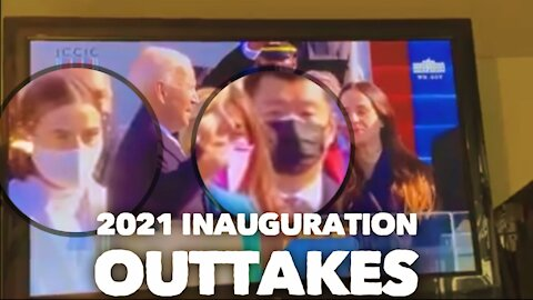 🎥 AND SCENE!! 🎥 INAUGURATION OUTTAKES