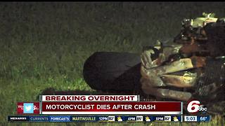Man dead in crash after speeding away from police - Video