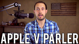 Apple CEO Tim Cook Explains the Banning of Parler | Or Doesn't, Actually