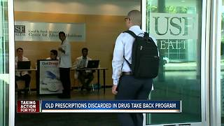Drug take back day - Video