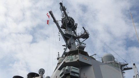 US And Chinese Warships Almost Collide In South China Sea