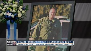Funeral tomorrow for slain Highlands County Deputy