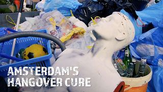 Who knew a canal clean-up could be an after party? - Video