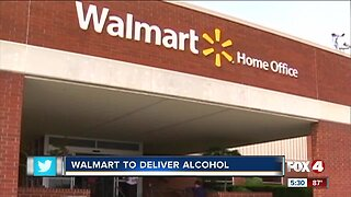 Walmart to start delivering alcohol in select areas