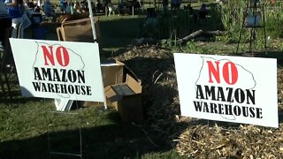 Amazon opposition, Grand Island group petitions Town Board to oppose project
