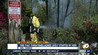 Residents believe Del Cerro brush fire could have been prevented - Video