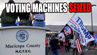 Arizona SEIZES Voting Machines for Forensic Audit!