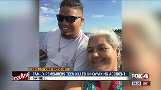 Family remembers teen who died in kayaking accident
