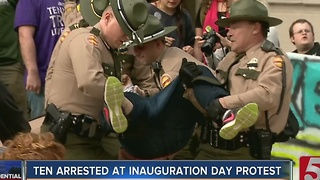 Arrests Made During Rally At Tennessee State Capitol - Video