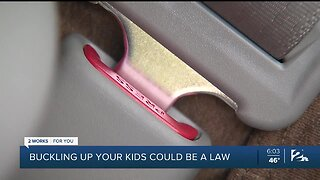 Buckling Up Your Kids Could Be A Law