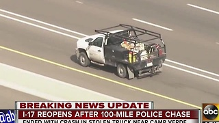 Man leads several police agencies on pursuit from Gilbert - Video
