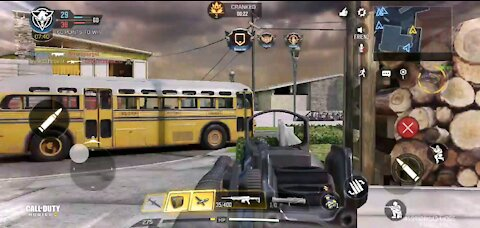 Plaing cranked for the first time(cod mobile)