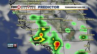 Hot, Few Storms Sunday - Video