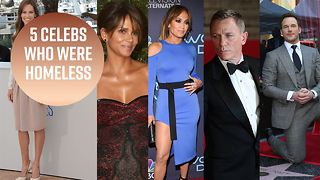 Believe it or not, these celebs were once homeless - Video