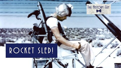 The Rocket Sled Trials of Colonel John Stapp