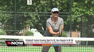 Pickleball: The fastest growing sport in America takes Northeast Ohio by storm - Video