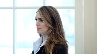 Hope Hicks Resigns As White House Communications Director - Video
